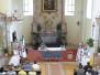 Svěcení praporu - V. Hostěrádky 13.6.2010