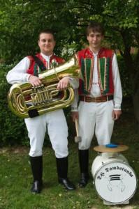 dambořanka tuba+bicí